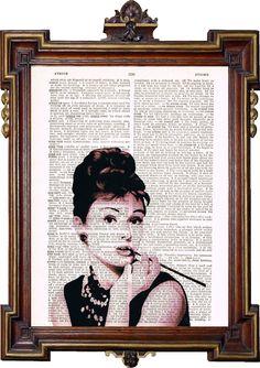 53 ideas breakfast at tiffanys poster art classy Marilyn Monroe And Audrey Hepburn, Audrey Hepburn Breakfast At Tiffanys, Breakfast At Tiffany's Poster, Tiffany Art, Tiffany Blue, Sheet Music Art, Vintage Posters, Making Ideas, Art Prints
