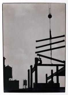 Emil Otto Hoppé Steel construction,  Philadelphia. 1926.