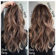Trendy Hair Color Dark To Light Ombre Guy Tang - All For Hair Color Trending Guy Tang Balayage, Balayage Hair Blonde, Brunette Hair, Ombre Hair, Brown Balayage, Bayalage, Haircolor, Hair Color And Cut, Hair Color Dark