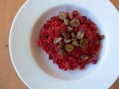 Das erdige Aroma der roten Beete wird perfekt ergänzt durch die Süße der Maronen und der Frische vom Zitronenabrieb.