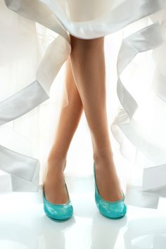 "Say ""I do"" in Tieks..."