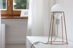 Agraffé lamp by G i u l i a    A g n o l e t t o, via Behance