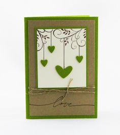 Eine perfekte Hochzeitskarte oder auch als Einladungskarte zur Hochzeit.