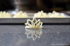White chocolate tiara
