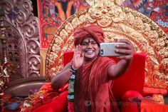 Blessing through Selfies!