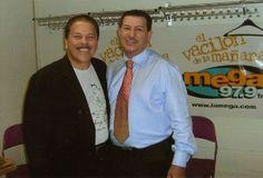 Johnny with Tito Rojas