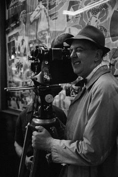 In memory:  Jacques Tati - (b 10/9/1907 Paris, France) died 11/4/1982 at 75 years old       Director, writer, actor, producer