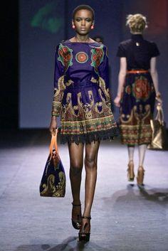 Taibo Bacar - Mercedes Fashion Week Africa 2012