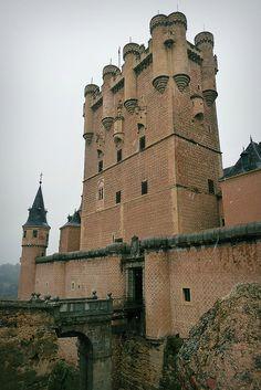 """El Alcazar de Segovia, Spain - since Alcazar is derived from """"Al-Qasr"""" (the castle) in Arabic, the Spanish addition of """"El"""" is actually redundant."""