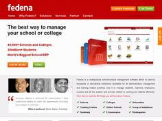 #Fedena is a multipurpose school/campus management software which is used by thousands of educational institutions worldwide for all administration, management and learning related activities. Use it to manage students, teachers, employees, courses and all the system and process related to running your institute efficiently.