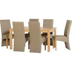 Easy On The Eye Dining furniture sets uk Oak Dining Sets, Dining Furniture Sets, Fine Furniture, Dining Chairs, Dining Table, Rustic, Room, Design, Home Decor