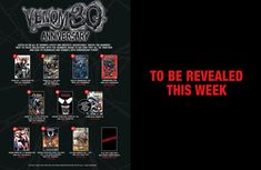 Marvel Comics Maps out the Future (and Past) of Venom for His 30th Anniversary