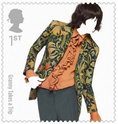 British Fashion Stamp by Johnson Banks & Sølve Sundsbø
