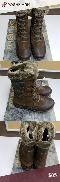 The North Face Women's Nuptse Purna The North Face Women's Nuptse Purna. New in box North Face Shoes Winter & Rain Boots