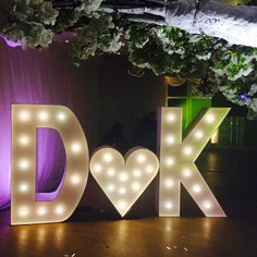Tips centerpiece giveaway ideas centerpieces and weddings giant light up letters for weddings and parties from light up love junglespirit Image collections