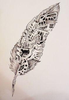 Plume mécanique (Sketchy):