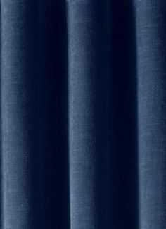 "Chambord Indigo Vintage Velvet - Antique striated thick, heavy & soft velvet for drapery panels or upholstery. Same velvet as RH Vintage Velvet. 100% soft cotton face. 54"" wide. Made in U.S.A."