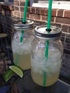 How to Make Mason Jar Drink Cups. Going to replace all my glasses with mason jars and this is great for kids.  J