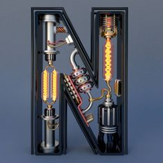 Electromechanical Type by Jose Carlos – Fubiz Media