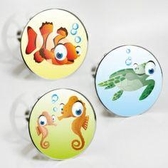"""Stöpselaufkleber """"Unterwasser Tiere"""" Sticker Set – 3 Aufkleber"""