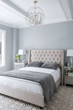 7 Victorious Tips AND Tricks: Chic Bedroom Remodel small bedroom remodel house plans.Guest Bedroom Remodel Tips master bedroom remodel ikea hacks. Bedroom Colour Palette, Small Bedroom Colours, Romantic Bedroom Colors, Living Room Decor Colors Grey, Colors For Bedrooms, Calming Bedroom Colors, Romantic Bedding, Grey Palette, Romantic Bedrooms