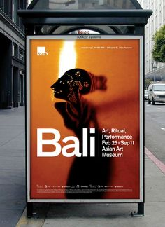 Asian Art Museum: Bali Exhibit by Bob Dinetz, via Behance