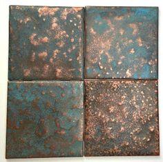 Copper Splashback Kitchen, Copper Tile Backsplash, Copper Kitchen Decor, Copper Bathroom, Wooden Kitchen, Backsplash Ideas, Kitchen Backsplash, Copper House, Rustic Bathroom Designs