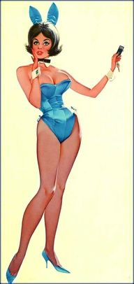 Pinup best prize for a real playboy