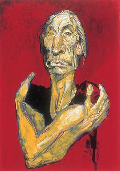 Portrait of Charlie Watts of the #RollingStones by Sebastian Kruger