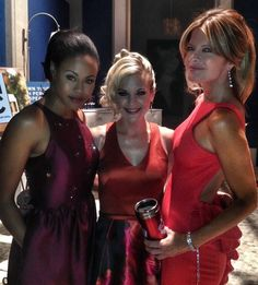 Vinessa Antoine, Kirsten Storms, and Michelle Stafford behind the scenes of the Nutcracker Gala