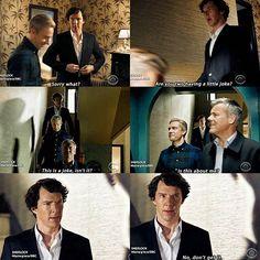 "Clueless Sherlock. Sherlock S04 E01 ""The Six Thatchers"". Season 4."