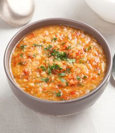 Warming Healthy Winter Lentil Soup Recipe for Kids - Little Dish