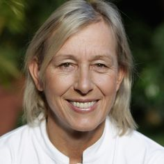 Martina Navratilova was once one of the world's top tennis players, competing against such pro players as Chris Evert and Steffi Graf, and becoming a Wimbledon champion. Read more about Navratilova's life and tennis career at Biography.com.