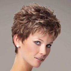 The Zest Wig by Gabor is a short, texture-rich pixie. - Paula Young