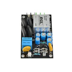 Product Description : Note:This Soft board only can work with amplifier board and transformer,it can't work with motor. High Power soft start circuit board[Relay] RGL high power super large current 100A pure copper foot relay[size] 93mmX56mmX29mm (height), ultra small size[Scope of application] Suitable for high Class Diy Speakers, Pure Copper, Circuit Board, Transformers, Audio, Electronics