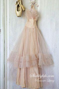 lovely dress. lovely slippers.