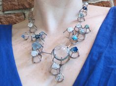 Joanna Gollberg, Prong-Set Necklace at Mora Designer Jewelry