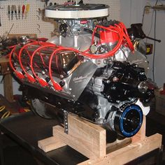 521 Ford Stroker Crate Engine With 575 HP