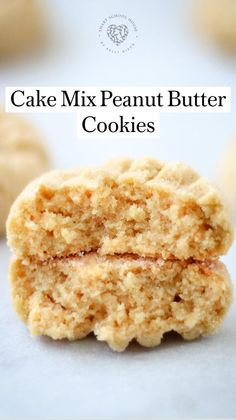 Recipes Using Cake Mix, Cake Mix Cookie Recipes, Cake Mix Cookies, Cake Recipes, Dessert Recipes, Cupcakes, Peanut Butter Cookies, How Sweet Eats, Just Desserts