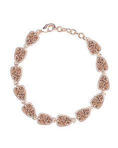 Susanna Link Bracelet in Rose Gold Drusy - Kendra Scott Jewelry. Coming January 21!