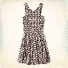 Girls Knit Skater Dress | Girls Dresses & Rompers | HollisterCo.com