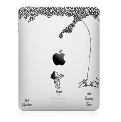 The Giving Tree by Shel Silverstein iPad Decal. If only I didn't think the giving tree was a chump. The Giving Tree, Daft Punk, Mac Book Cover, Pretty Things, Simple Things, Just In Case, Just For You, Shel Silverstein, Best Ipad