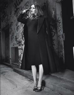 Calvin Klein Coat & Dress, Marc Jacobs Shoe, Ralph Lauren Shirt