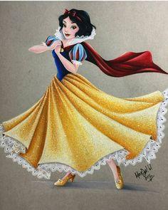 Pin by torin on disney art inspirations белоснежка дисней, принцессы диснея, Disney Princess Snow White, Snow White Disney, Disney Princess Art, Disney Fan Art, Disney Love, Disney Magic, Snow White Art, Disney Couples, Disney And Dreamworks