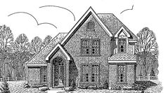 Eplans European House Plan - Four Bedroom European - 2090 Square Feet and 4 Bedrooms(s) from Eplans - House Plan Code HWEPL70019