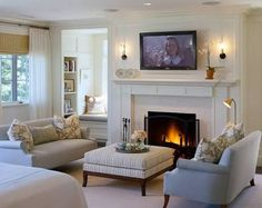 Image result for lounge rooms with fireplace