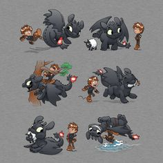 How NOT to Train T-Shirt $11 How to Train Your Dragon tee at Unamee!