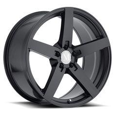 17 MANDRUS ARROW MATTE BLACK 8J 5 stud 42 offset alloy wheels MANDRUS ARROW…