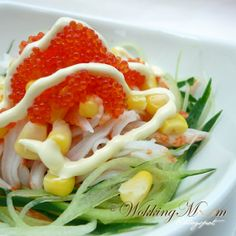 Let's get Wokking!: Crabstick and Corn Salad 蟹肉棒玉米沙拉 | Singapore Food Blog on easy recipes