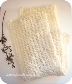 I like to knit through the back loop when knitting. This is something I discovered I did when I'd try a pattern and end up making the finish...